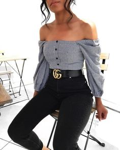 Stylish outfit idea to copy ♥ For more inspiration join our group Amazing Things ♥ You might also like these related products: - Sweaters ->. Look Fashion, Girl Fashion, Fashion Outfits, Womens Fashion, Fashion Trends, Jeans Fashion, Cute Fashion, Dress Fashion, Street Fashion