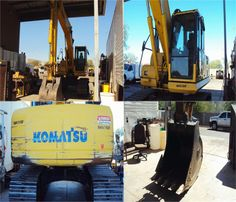 "This #Komatsu Pc200 lc-8 #Excavator is Approx 4000 Hours Used, 31.5"" Triple Grouser Track Shoes, Boom 18'8"", Arm 9'7"", 54"" Bucket, Hydraulic Quick Coupler and many other facility in this Excavator. So just contact PacWest Trading to get for only $ 109500 in Mesa, AZ, USA at FindUsedHeavyMachinery.Com"