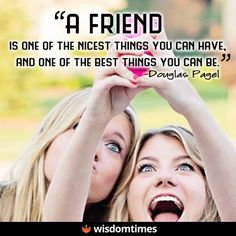 A friend is wonderful to have, but even more lovely to be!  #WisdomTimes #livelife #believe #motivation #success #inspire #nevergiveup #createyourlife