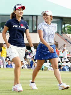 Girl Golf Outfit, Cute Golf Outfit, Girl Outfits, Girls Golf, Ladies Golf, Nike Soccer Ball, Golf Wear, Blue Polo Shirts, Great Women