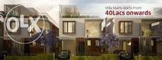 Villas for 44 lakhs in mahindra city