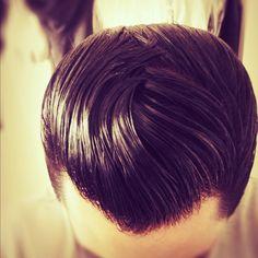 Retro mens Hair...i wish guys still did thier hair like this..