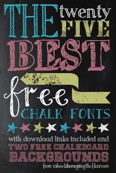 i should be mopping the floor: Over 50 Free Summer Fonts