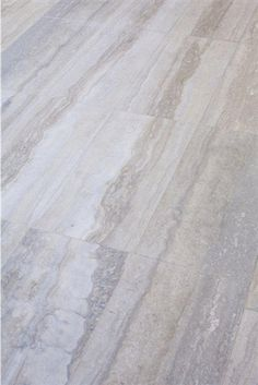Silver Travertine- Vein Cut -10x20 Tile, Ocean Blue Travertine