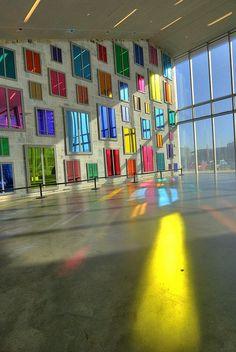 Ugo Rondinone- Clockwork for Oracles, Institute of Contemporary Art, Boston 2008 Institute Of Contemporary Art, Contemporary Abstract Art, Modern Art, Light Art Installation, Art Installations, Art Fou, Instalation Art, Bg Design, Renzo Piano