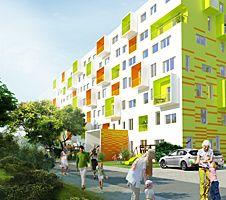 Dornyk, Bratislava, Slovensko bytový dom Architekti Šebo Lichý Bratislava, Architekti, Multi Story Building, Fair Grounds, Street View, Fun, Travel, Atelier, Mexico