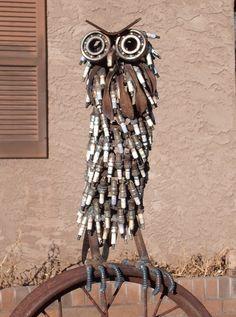 """Wilhelm's Art - by Artist John V. Wilhelm New owl called """"Hooter""""."""