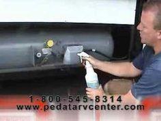RV LP Gas System Repair and Maintenance DIY