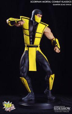 Scorpion Statue | Mortal Kombat | SIDESHOW