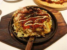 Seafood Okonomiyaki, via Flickr.
