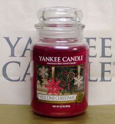 YANKEE CANDLE Welcome Christmas.