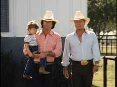 Dallas Bobby JR and Christopher Ewing