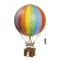 Why in the world would you shop anywhere else for Authentic Models? For Authentic Models shop at Peter's of Kensington today. Diy Hot Air Balloons, Large Balloons, Helium Balloons, Balloon Basket, Balloon Modelling, Jules Verne, Travel Light, Balloon Decorations, Decorative Objects
