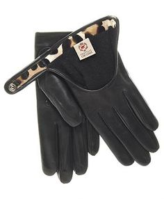 Women's Italian Cashmere Lined Leather Driving Gloves (sz 8.5)