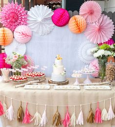 Tu Fiesta en Colores: DIY - Decoraciones para candy bar