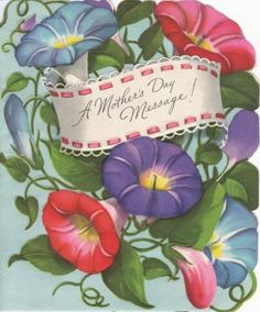 vintage mother's day greetings | Two Crazy Crafters: Happy Mother's Day!