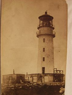 Postcard of Flannan Isle Lighthouse; 1900-1950; SLM.1998.16.4 - Museum of Scottish Lighthouses on eHive