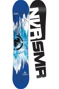 It breaths venom and attacks well like a cobra. We're talking about the Never Summer Cobra, a high performance, ass kicking snowboard that cuts through snow effortlessly and possibly leaving a venom trail. More modern than ever, you're in for a wild ride.