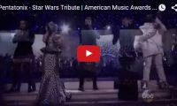 Pentatonix – Star Wars Tribute   American Music Awards 2015   AMAs Wow. We're just loving the Princess Leia doo on Pentatonix's member Kirstin Maldonado. These guys have come such a long way and now had a chance to really shine at the recent American Music Awards with their Star Wars medley…