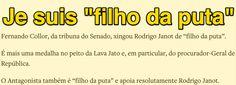 """Je suis """"filho da puta"""" ➤ http://www.oantagonista.com/posts/je-suis-filho-da-puta ②⓪①⑤ ⓪⑧ ⓪⑥ #BrazilCorruption"""