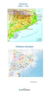 Mapa Físic De Catalunya Mut.11 Tendencias De Rius De Catalunya Para Explorar Rius De