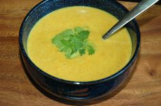 This curried golden beet soup is a potent blood builder and filled with antioxidants.