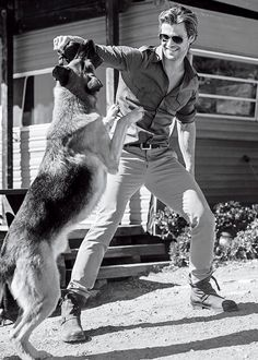 Chris Hemsworth & GSD