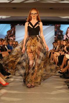 dress by Jana Pištejová (Bratislava Fashion Days 2017)