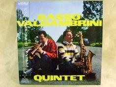 CD/Japan- BASSO VALDAMBRINI QUINTET s/t (1959) w/OBI RARE MINI-LP - Gianni Basso #BebopContemporaryJazz