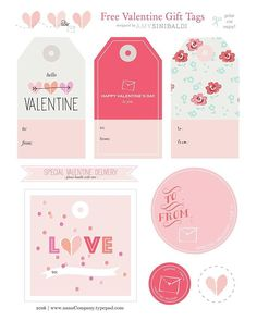 February starts tomorrow love-lies!Free Valentine tag printable at nanaCompany today!  Print  Cut ✂️ enjoy!  #valentineprintable