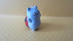 Cute Handmade Catbug Polymer Clay Charm! Inspired by Bravest Warriors, Cartoon Hangover. Great as a Keychain, Cellphone Charm or Necklace! on Etsy, $6.88