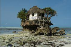 Eat Lobster at the Rock Restaurant in Zanzibar