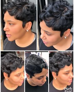 """64 Likes, 4 Comments - Quiet As Kept⚪️⚫️ (@livelifemichxox) on Instagram: """"Simply beautiful #xoxotouch#shorthairdontcare #shorthair #simple #sheekwe #essencemag #voiceofhair…"""""""