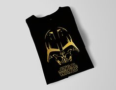 """Check out new work on my @Behance portfolio: """"Gold Darth Vader"""" http://be.net/gallery/33321397/Gold-Darth-Vader"""