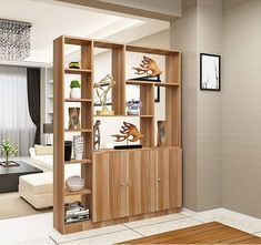 Beautiful Open Kitchens With Unique Partitions And Room Dividers 52 House Design, Room Design, Living Room Kitchen Divider, Home Decor, House Interior, Living Room Divider, Living Room Partition Design, Home Interior Design, Living Room Designs