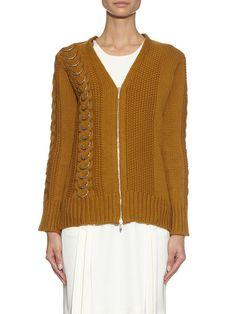 Cable-knit wool cardigan   Edun   MATCHESFASHION.COM