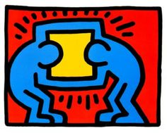 Pop Shop VI by Keith Haring. Pop Shop VI by Keith Haring is a suite of four iconic silkscreen prints on paper created by Keith Haring in Claes Oldenburg, Andy Warhol, Roy Lichtenstein, Jm Basquiat, James Rosenquist, Keith Haring Art, Winter Wolves, Wessel, Pop Art Artists