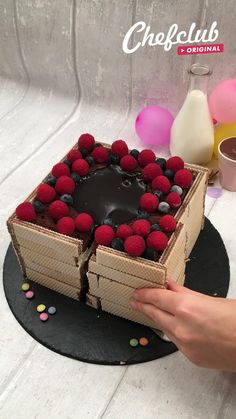 Fun Baking Recipes, Sweet Recipes, Delicious Desserts, Yummy Food, Cake Decorating Videos, Dessert Cake Recipes, Mini Foods, Creative Food, Yummy Cakes