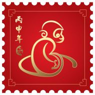 Chinese new year 2016 (Year of monkey) Asian New Year, Chinese New Year 2016, Chinese New Year Zodiac, New Years 2016, Free Images For Websites, Chinese Crafts, Year Of The Monkey, New Year's Crafts, Art Courses