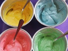 make your own natural food coloring from food like beets, spinach, tea....