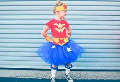 Wonder Woman inspired Tutu Costume