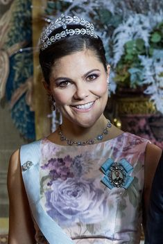 Crown Princess Margareta of Sweden's Laurel Wreath Tiara