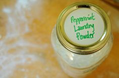 make your own laundry soap at home