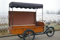 Old Fashioned Dutch Street Vending Trike
