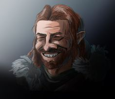 Caricature: Ned Stark