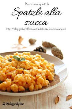 Gnocchi Pasta, Ravioli, Antipasto, Polenta, Biscotti, I Foods, Vegetarian Recipes, Pumpkin, Vegetables