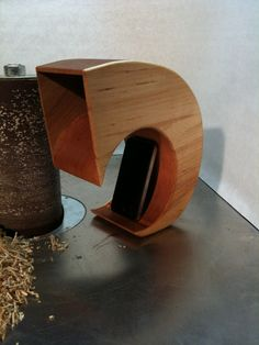 "Super cool acoustic natural ""speaker"".  -  Passive iPhone Speaker by NashuaaConstructions on Etsy, $100.00"