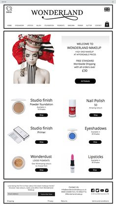 Wonderland | Health and beauty | Make Up Online Store