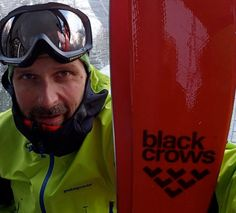 Toni and Black Crows, Cogne, Italy