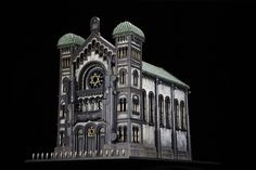 """""""Artist Al Farrow uses ammunition and parts from firearms to build miniature churches, synagogues, and mosques.""""Artists, Al Farrow, design, art, contemporary art, contemporary design. 